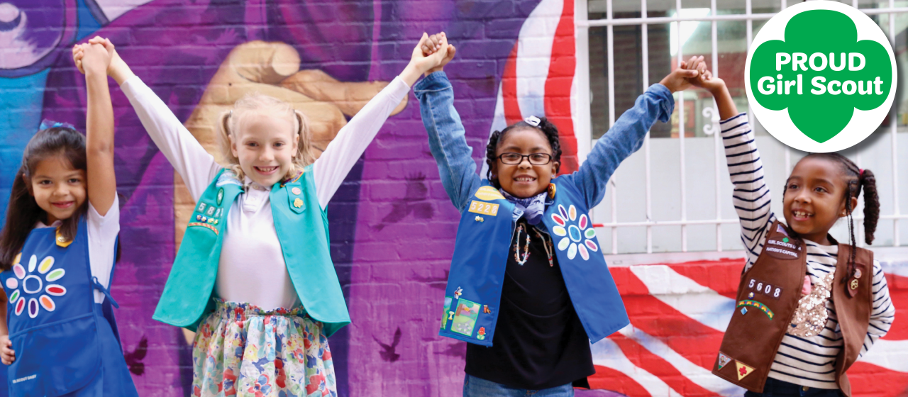 Girl Scout Proud Page Header