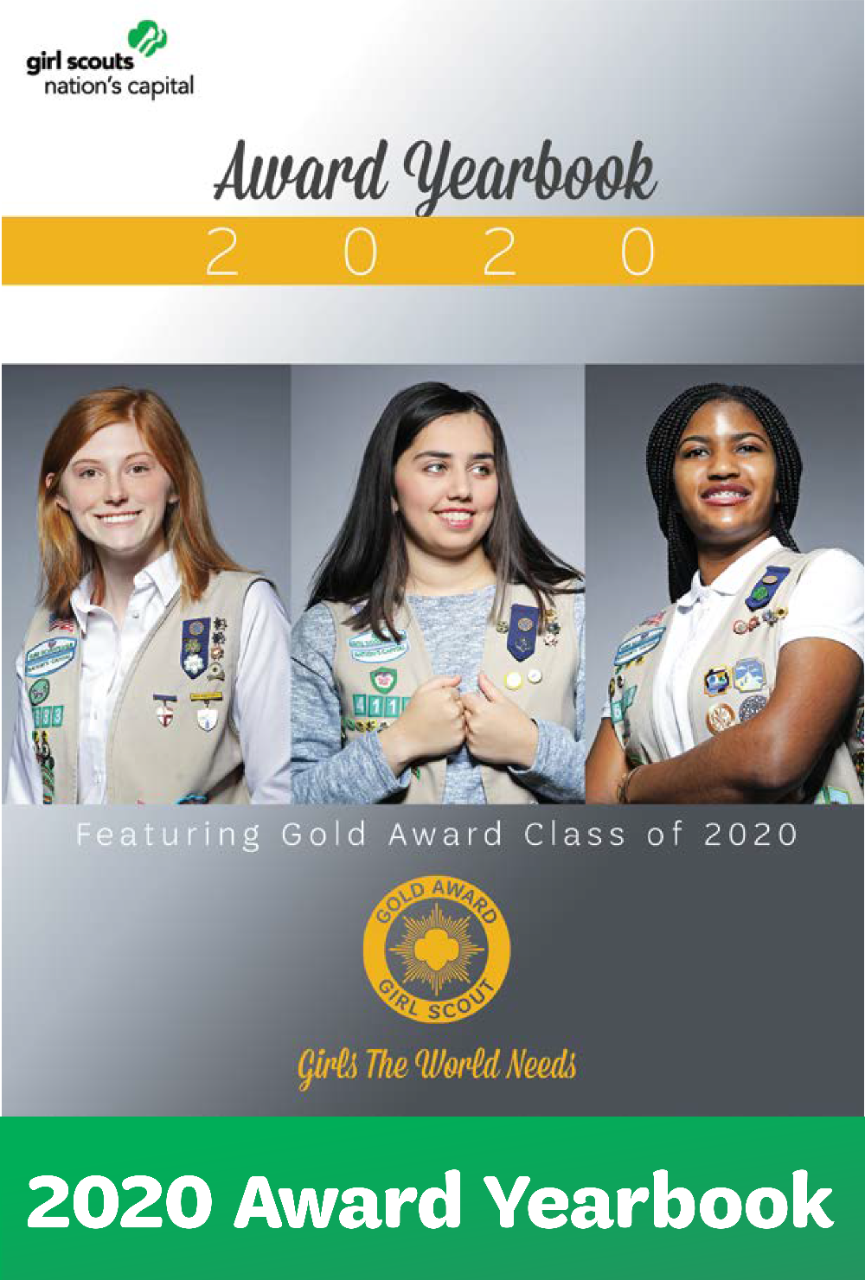 2020 Gold Award Yearbook Right Rail
