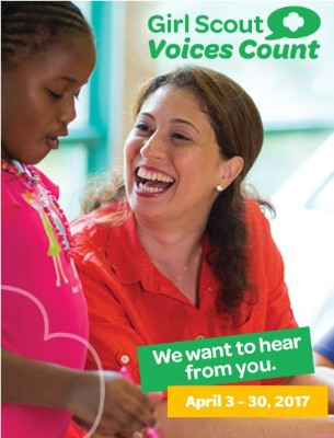 Girl Scout Voices Count