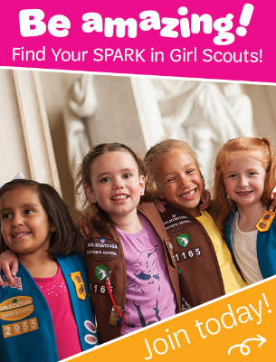 Become a Girl Scout Today!