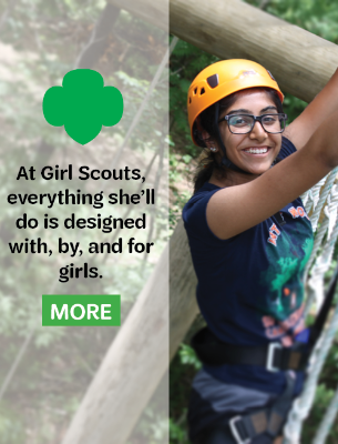 Learn about the Girl Scout Difference.